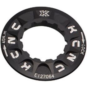 KCNC Lockring Shimano Center Lock, black